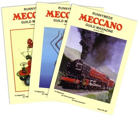Runnymede Meccano Guild Magazines