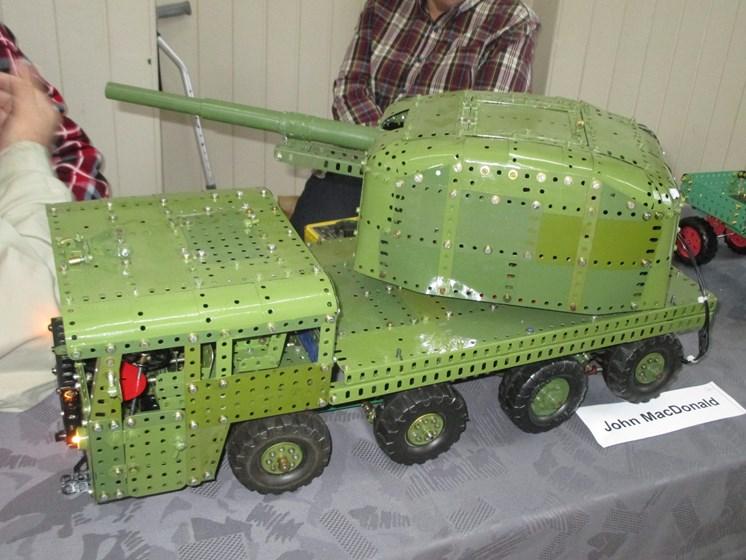 John MacDonald - Military Vehicle